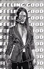 FEELING GOOD | WHITE COLLAR  by AESTHETIC-ILY
