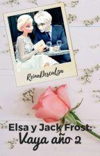 Elsa y Jack Frost: Vaya año 2. by reinadescalza