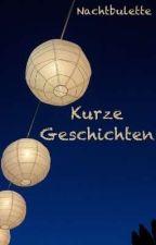 Kurzgeschichten by Nachtbulette