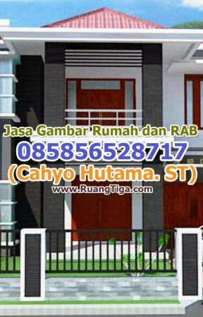 085856528717 Jasa Desain Rumah Sederhana Minimalis Dengan 2 Lantai Wattpad