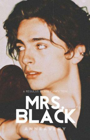 MRS BLACK • r. black by -singularitys