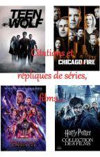 Citations/Répliques Séries, Films,... by juju1002