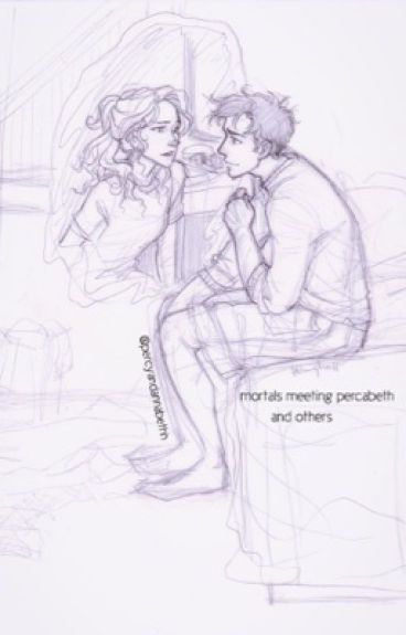 Mortals meet Percabeth (and others)