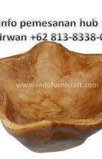 WA +62 813-8338-0408 Jual tempat makan unik kayu enak Terbaik by kerajinankayu9999