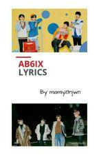 AB6IX Lyrics by mamiy8njwn