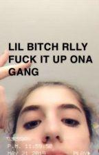 Lil Bitch Rlly Fuck It Up Ona Gang by lbrfiuog