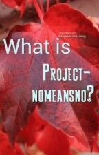 What is Projectnomeansno?  by projectnomeansno1