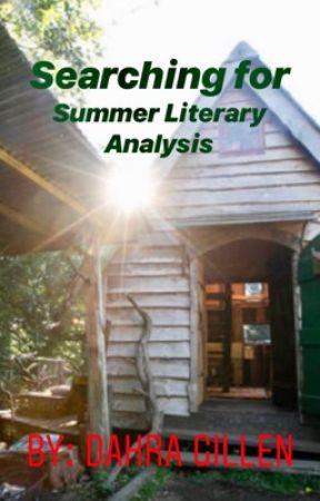 searching for summer by joan aiken essay