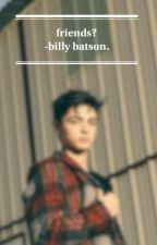 friends? || billy batson x reader. by evielogical