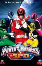 Power Rangers S.P.D.  (male reader) by Lightningstorm12
