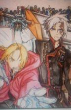 d gray man and fullmetal alchemist: brotherhood crossover by aurawrrawr-chan