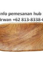 WA +62 813-8338-0408 Jual kerajinan kayu bulat Palembang Terlaris by kerajinankayu9999