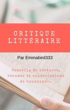 Critique littéraire by Emmabird333