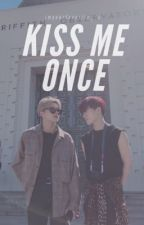 kiss me once • woosan by imyourfavorite_