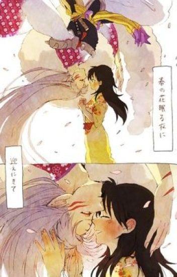 Sesshomaru y Rin Después de la derrota de Naraku