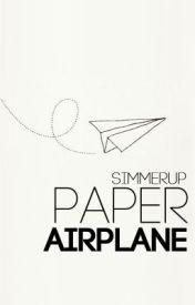 Paper Airplane by simmersideways