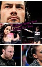 """Falling head over heals for you """" wwe request"""" by cmpunk_bae"""