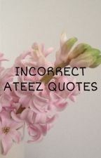 incorrect Ateez quotes by OhWasseo