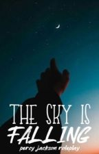 THE SKY IS FALLING ⋆.*ೃ percy jackson roleplay by nafragous