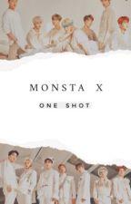 MONSTA X ONE SHOT/IMAGINES by peachyshowki