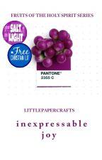 inexpressable joy by LittlePaperCrafts