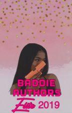 Baddie Authors Elite 2019! by BaddieAuthorsElite