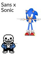 sans x sonic  by 0justsapphictings0