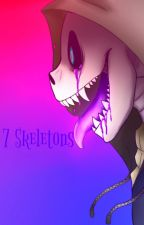 7 skeletons [discontinued????] by FloofyFluffyHoodie