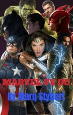 Marvel VS DC (The Avengers fight The Justice League) by Mark_Stybert