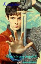 Magic is very helpfull sometimes ~ Merlin by kaatjedeee