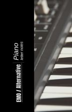 Alternative / Emo Piano Letter Notes by 21pi0lets
