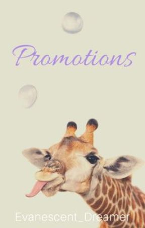 Book Promotions by Evanescent_Dreamer