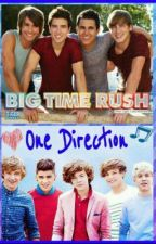 On tour with One Direction and Big Time Rush by SammyoneD