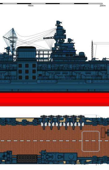 The aviation battleship