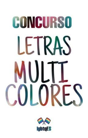 Letras multicolores [concurso] by lgbtqES