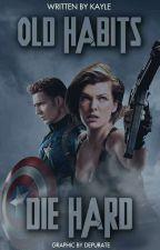 Old Habits Die Hard ° Steve Rogers  by asgardians-