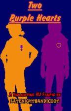 Two Purple Hearts by LateNightBandicoot