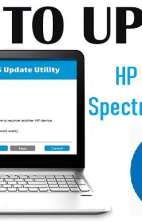 HP Pavilion x360 & HP Specter laptop BIOS Software and Driver