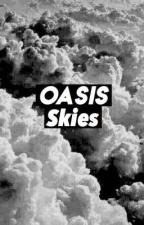 Oasis skies by moonclxuds