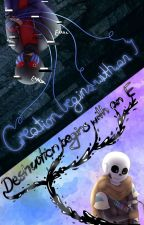 Creation Begins with an I, Destruction Begins with an E (Undertale Errink Book) by EmoTrash360