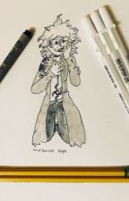 YOU DONT CARE - OC x Kokichi Oma by ArtistTheWolf