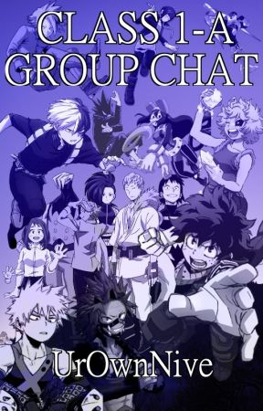 My Hero Academia || Class 1-A Group Chat by UrOwnNive