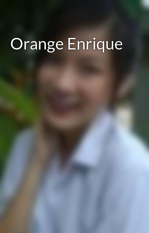 Orange Enrique by AleciadeVera
