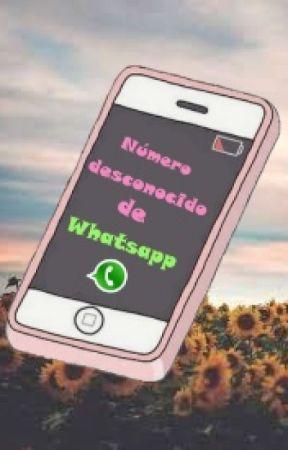 Número desconocido de Whatsapp by Gabby-EM