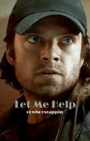 Let Me Help // Bucky Barnes Romance // by cowboysrappin
