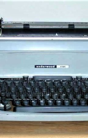 Selling Baby: Parting With a Viet Nam-era Marine Corps Typewriter by MHeying