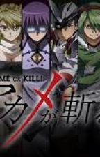 JOJO Golden wind x akame Ga kill by greenbeedrill888