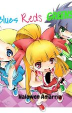 The Powerpuff Girls Z: Blues, Reds, and Greens by wowie-wow1