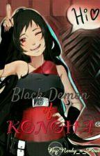 Black Demon of Konoha (Naruto) by Nerdy_n_Proud