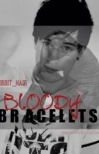 Bloody Bracelets // Lukeisnotsexy by hobbit_hair